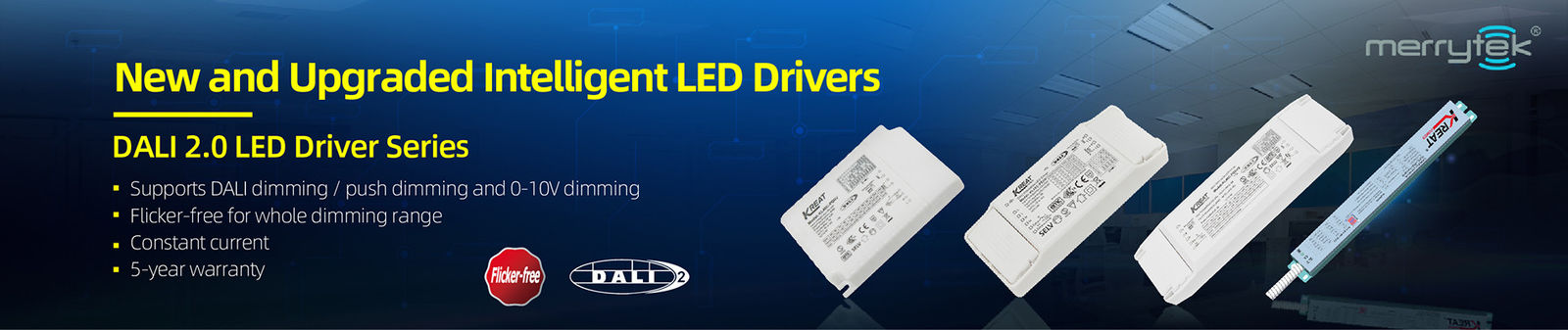 DALI2.0 Dimmable LED 운전사