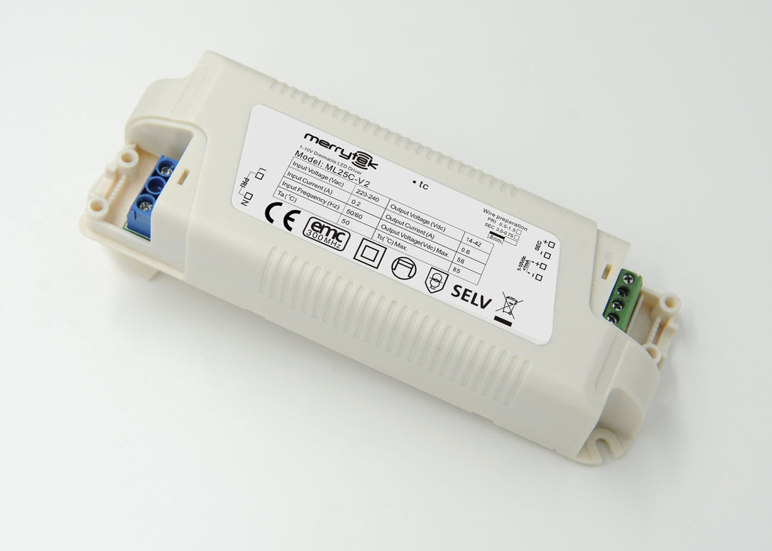 700mA Dimmable LED Driver 0 - 10v Constant Current 3 - Step Dimming