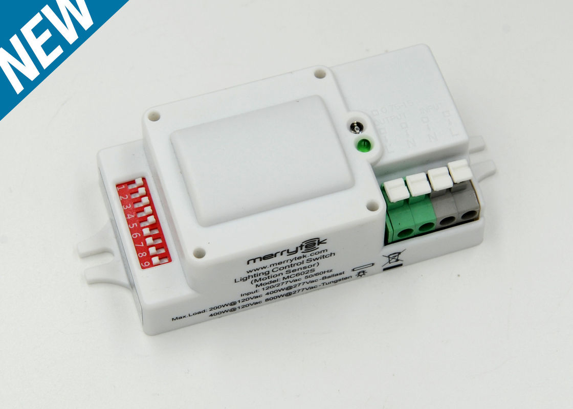 Automatic Switching 120-277Vac Light Motion Sensor Microwave Approved FCC